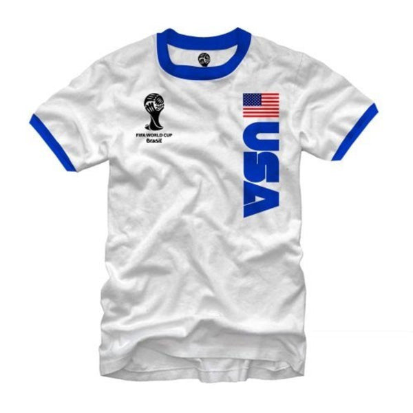 "2014 FIFA World Cup ""USA"" Ringer Shirt"