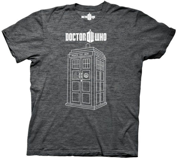 "Doctor Who ""Linear Tardis"" Shirt"