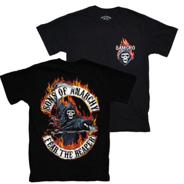"Sons of Anarchy ""Flamed Reaper"" Shirt"
