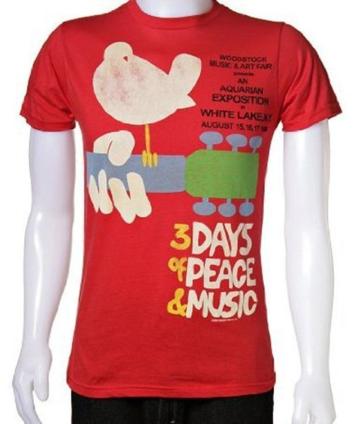 "Woodstock ""3 Days of Peace & Music"" Shirt"