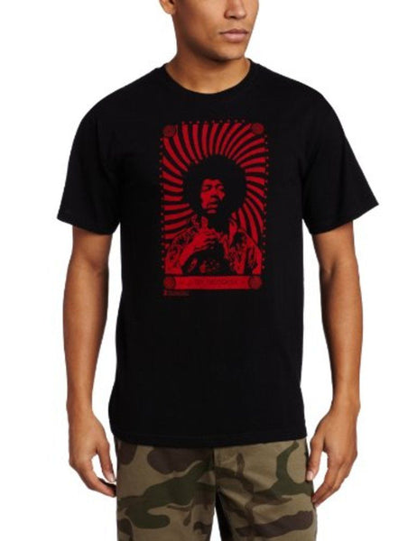 "Jimi Hendrix ""Red Swirl"" Shirt"