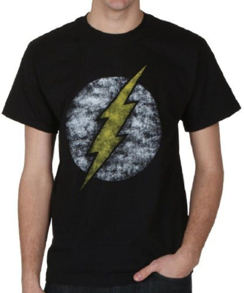 "The Flash ""Distressed Logo"" Shirt"