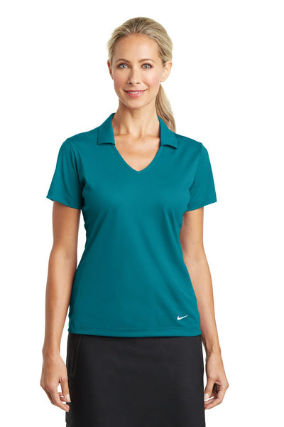 Nike Golf Ladies Dri-FIT Vertical Mesh Polo. 637165
