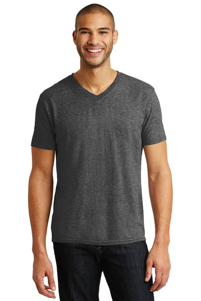 Anvil® Tri-Blend V-Neck Tee. 6752
