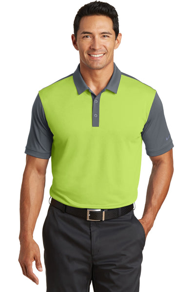Nike Golf Dri-FIT Colorblock Icon Modern Fit Polo.  746101