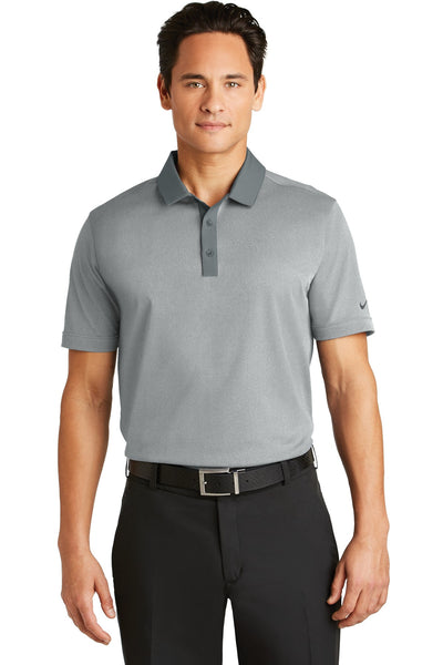Nike Golf Dri-FIT Heather Pique Modern Fit Polo. 779798
