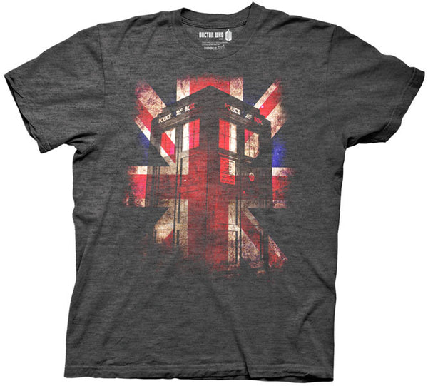 "Doctor Who ""Union Jack"" Shirt"