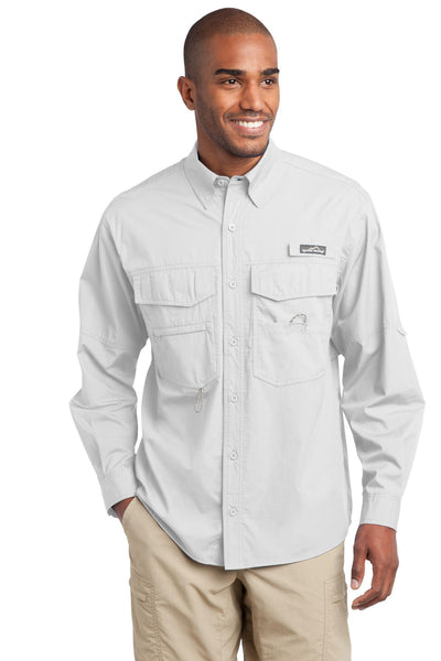 Eddie Bauer® - Long Sleeve Fishing Shirt. EB606