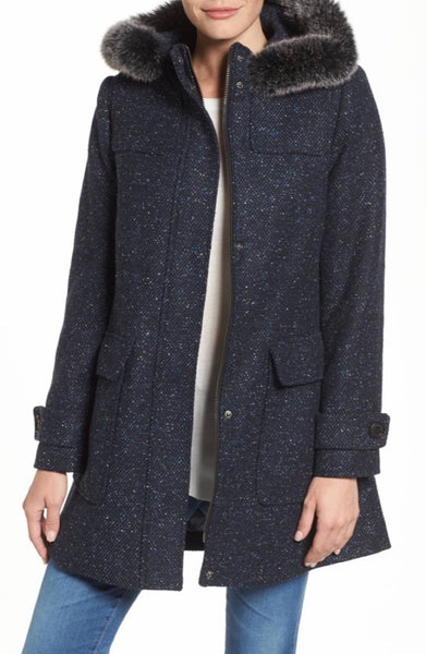 Pendleton Women's Signature Portland Wool Duffle Coat