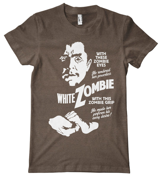 White Zombie American Apparel Tri-Blend T-Shirt