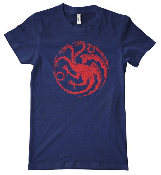 Game of Thrones Targaryen Sigil Triblend Premium T-Shirt