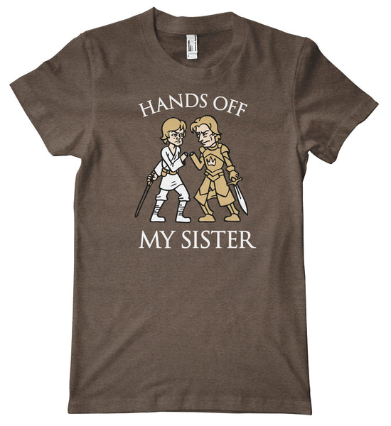 Keep Your Hands Off My Sister American Apparel Tri-Blend T-Shirt