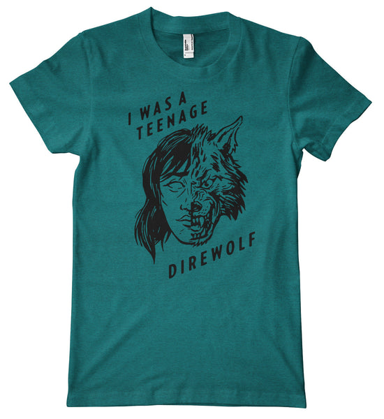 I Was a Teenage Direwolf American Apparel Tri-Blend T-Shirt
