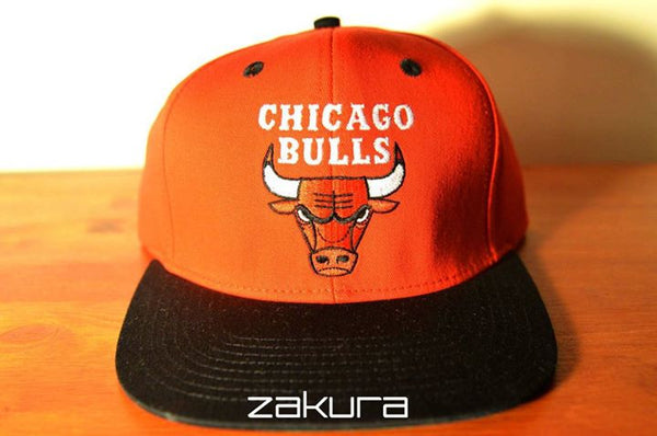 Chicago Bulls, LOGO, Red/Black, NBA, Snapback