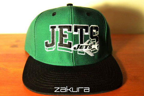 N.Y Jets, BLOCK, Green/Black, NFL, Snapback