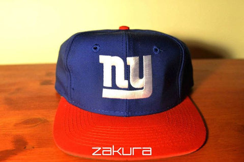 N.Y Giants, VINTAGE LOGO, Blue/Red, NFL, Snapback