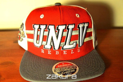 UNLV, BLOCK, White/Red/Grey