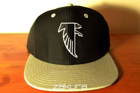 Atlanta Falcons, LOGO, Black/Grey, NFL, Snapback