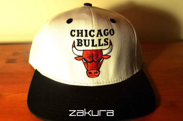 Chicago Bulls, LOGO, White/Black, NBA, Snapback