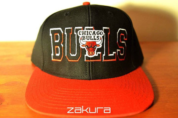Chicago Bulls, BLOCK, Black/Red, NBA, Snapback