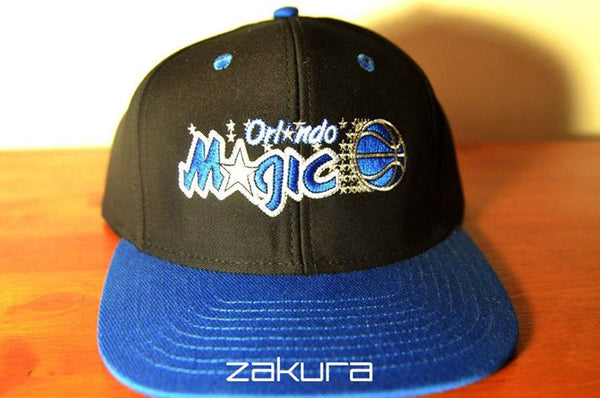 Orlando Magic, LOGO, Black/Blue, NBA, Snapback