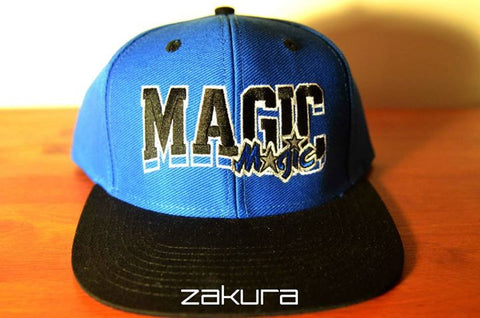 Orlando Magic, BLOCK, Blue/Black, NBA, Snapback