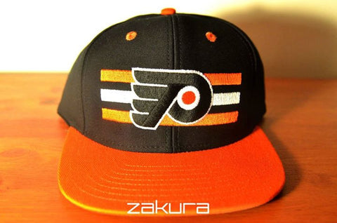Philadelphia Flyers, LOGO, Black/Orange, NHL, Snapback