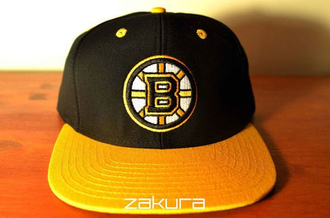 Boston Bruins, LOGO, Black/Yellow, NHL, Snapback