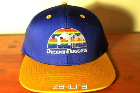 Denver Nuggets, LOGO, Blue/Yellow, NBA, Snapback