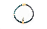 Tooth Leather Bangle