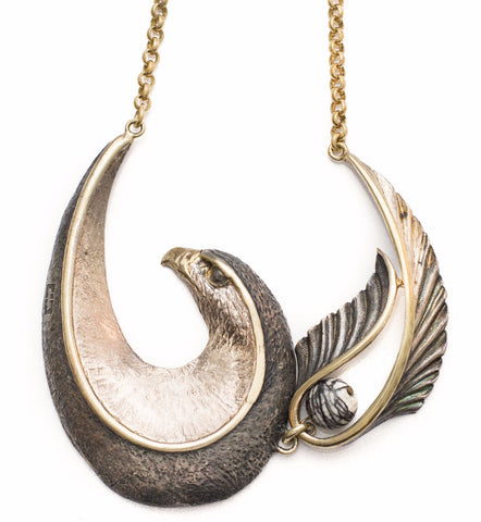 Heavy Eagle Necklace