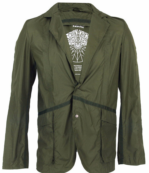 Olive Lightweight Suit Jacket