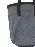 Grey Mesh Tote Bag