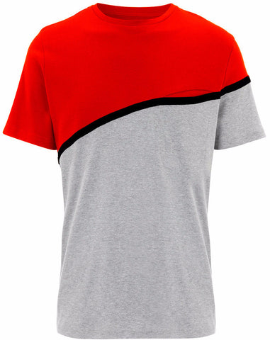 Red Front Pocket T-shirt
