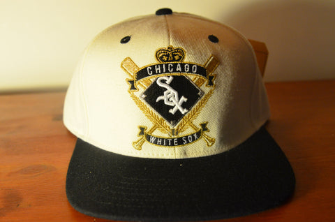 Chicago White Sox, CREST, Ivory/Black, MLB, Snapback