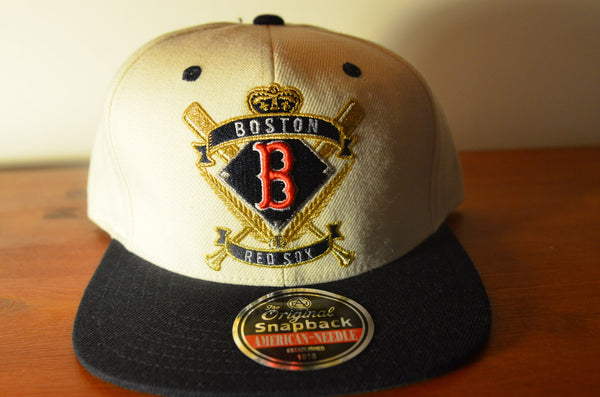 Boston Red Sox, CREST, Ivory/Black, MLB, Snapback