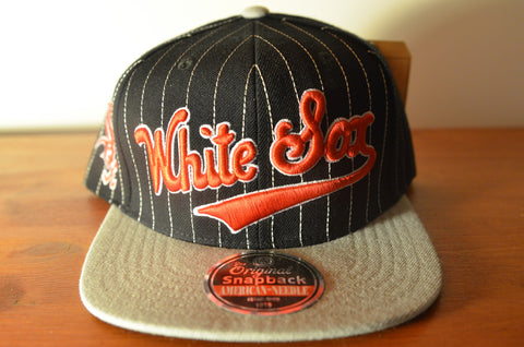 Chicago White Sox, PIN, Black/Grey