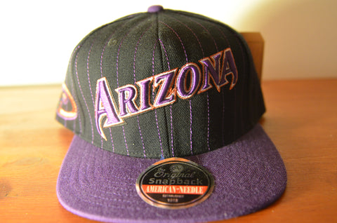Arizona Diamondbacks, PIN, Black/Purple, MLB, Snapback