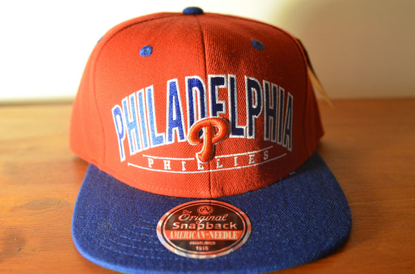 Philadelphia Phillies, NINETIES, Red/Blue, MLB, Snapback