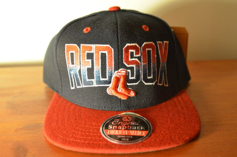 Boston Red Sox, HAYES, Black/Red, MLB, Snapback