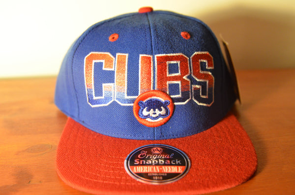 Chicago Cubs, HAYES, Blue/Red, MLB, Snapback
