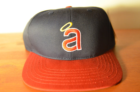 California Angels, Low LOGO, Navy/Red, MLB, Snapback