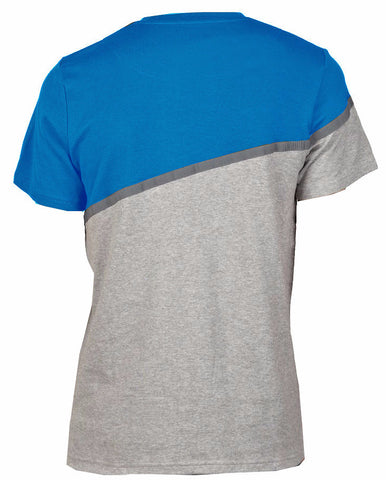 Turquoise/Grey Front Pocket T-Shirt
