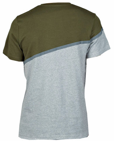 Olive/Grey Front Pocket T-Shirt