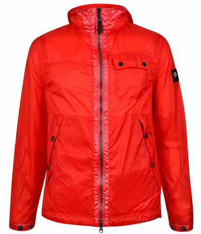 Red Rip Stol Parka Jacket