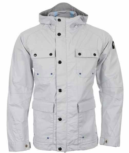 Ice Blue Trail Rainproof Jacket
