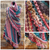 Luscious Ambiente Shawl with Berry Lettuce Border - secretyarnery