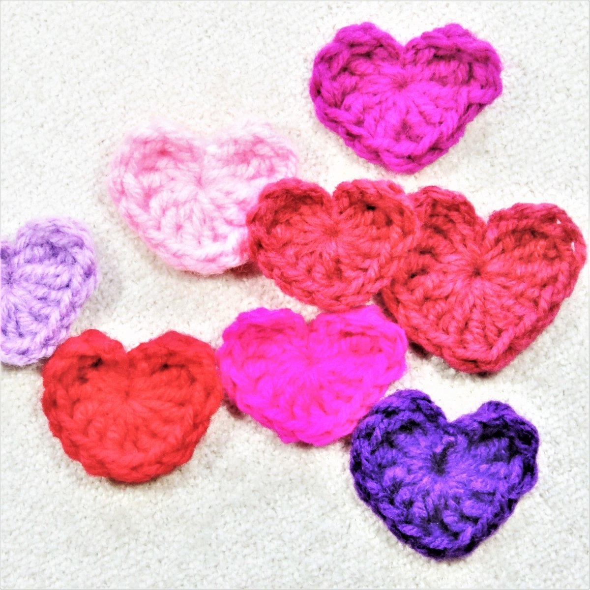 Super Fast Crochet Hearts - secretyarnery