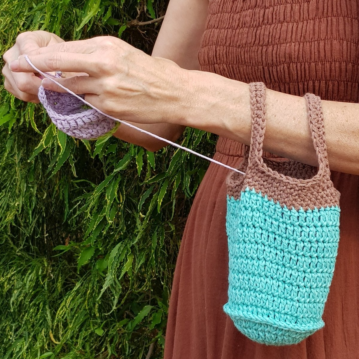 Yarn on the Arm Bag - secretyarnery