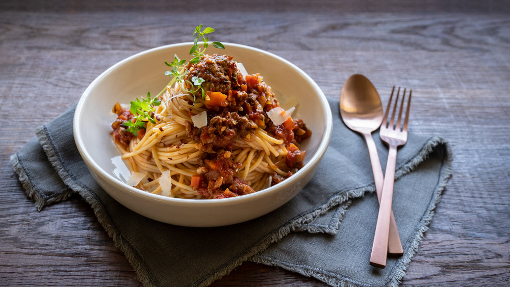 Delicious Water Buffalo Ragù Pasta